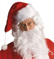 Weihnachtsmann Nikolaus Brille