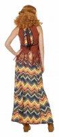Damen Hippie Kostüm mit Franse