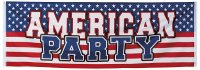 Banner USA Muster 74x220 cm