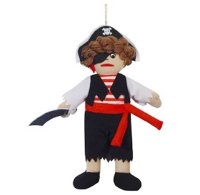 Piratenpuppe Puppe Pirat Dekoration Mottoparty Fasching