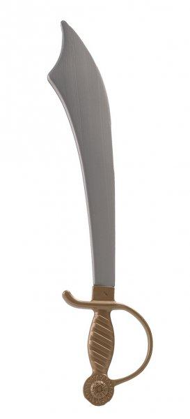 Piratensäbel ca. 52 cm Zubehör Pirat Haremswächterschwert