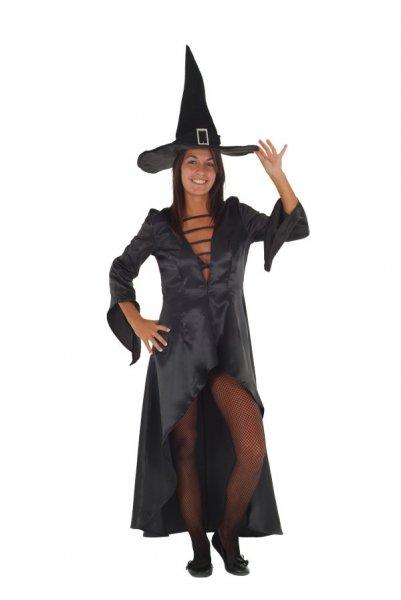 Hexe Hexenkostüm Damen schwarz