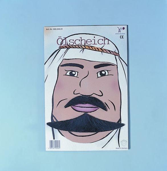 Ölscheichbart Ölprinz Araber Bart Scheich