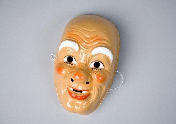 Nikolausmaske Maske Nikolaus Weihnachtsmannmaske Weihnachten