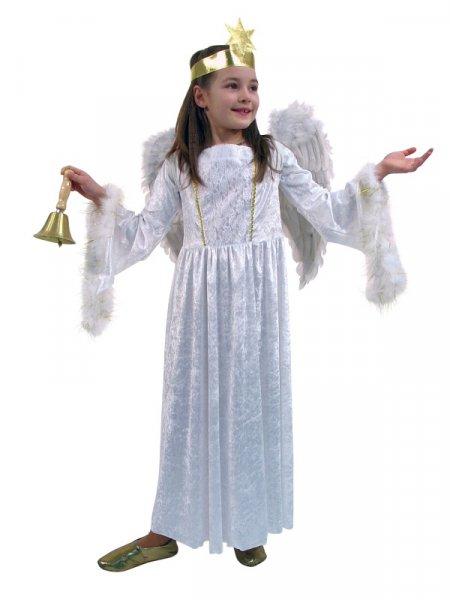 Kinder Engelskostüm Kleid Engel Weihnachten Kinderkostüm