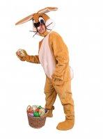 Hasenkostüm Ostern braun Kostüm Osterhase Fasching