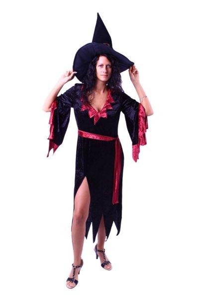 Hexenkleid rot Kostüm Hexe Damenkostüm Übergröße Party