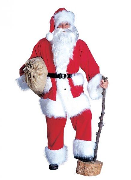 Nikolaus Anzug Weihnachten Nikolauskostüm Weihnachts Kostüm