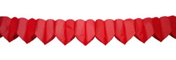Girlande Herzenform Herz Herzgirlande Herzen Dekoration