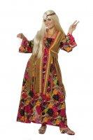 Hippie Hippiekleid Damenkleid Kleid Kostüme Frauenkostüm