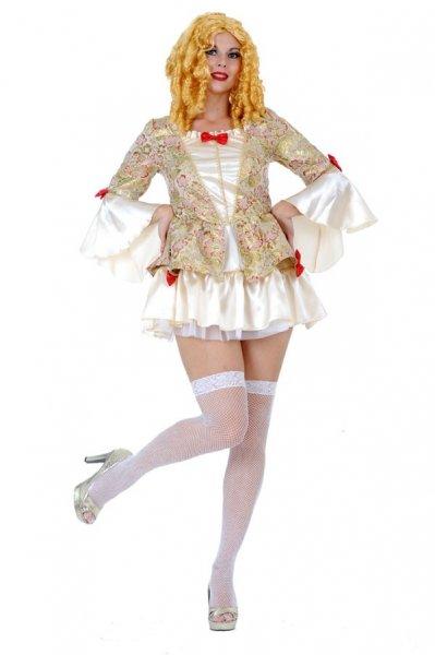 Sexy Rollenspiel Faschingskostüme Kleid Rokoko Barock Damen Neu