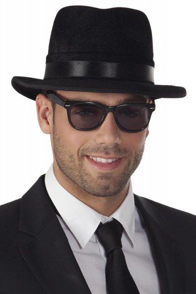 schwarze Sonnenbrille cool Rapper Brille Zubehör Brillen Herren