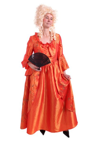 Rokoko Barock Ball Karneval Kostüm Kleid Reifrock Prinzessin