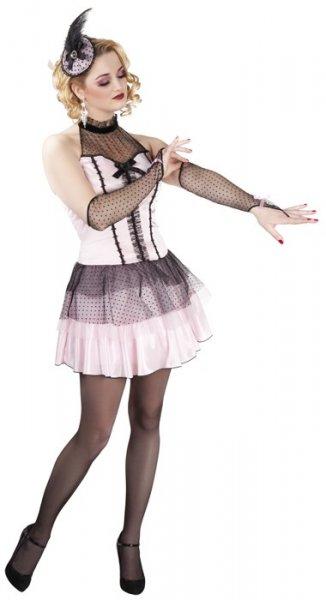 Burlesque Kostüm Pin Up Girl rosa