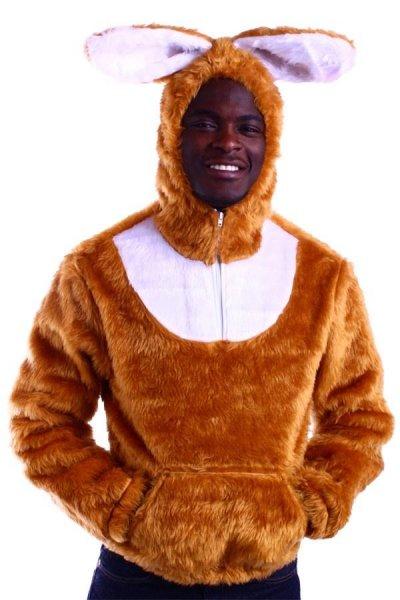 Plüsch Känguruh Hoodie Hudy Pullover Original MARCO PORTA