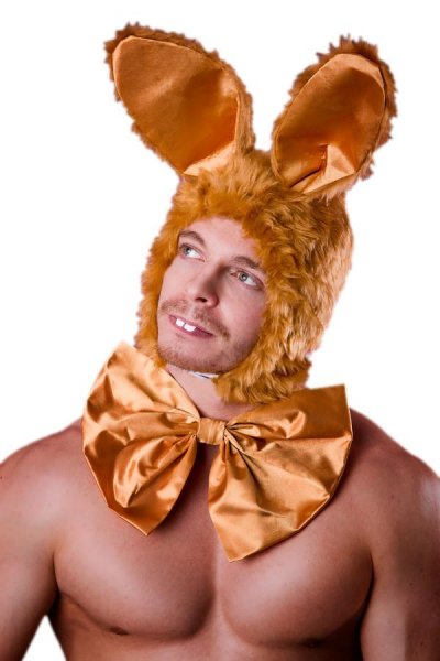 Osterhase 2-teiliges Set braun Bunny Ostern Kostüm