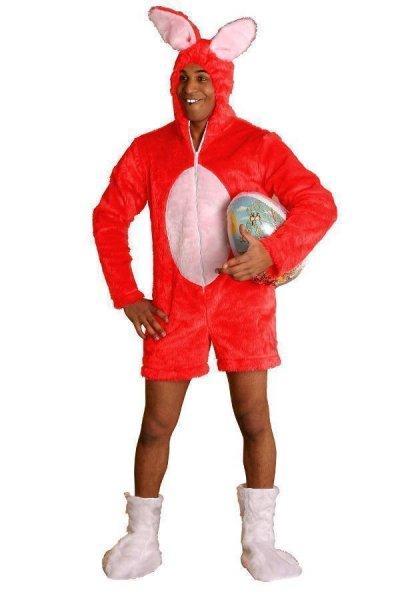 Rotes Hasenkostüm Osterhasenkostüm Osterhase Kostüm