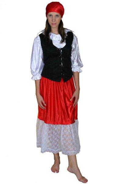 Zigeunerin Kostüm Damenkostüm