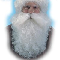 Nikolausbart weiß - ca. 40 cm