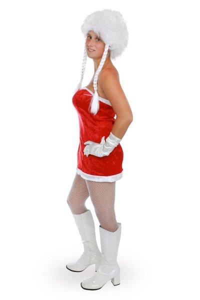 Santa Claudia Weihnachtsfrau Kostüm komplett