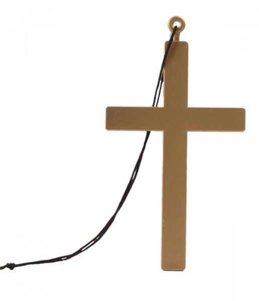 Kreuz aus Kunststoff für Mönch Pfarrer Priester
