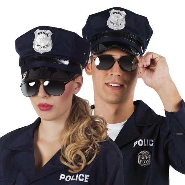 Original Marco Porta® Junggesellen Abschied Kostüm Set Polizei
