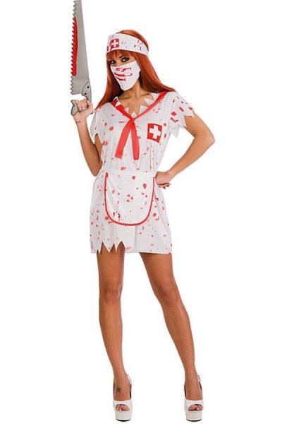 sexy Krankenschwester Kostüm halloween Kleid Schwester