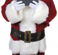 Weihnachtsmann Weihnachtsmann Gürtel St. Nikolaus...