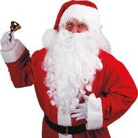 XXL Nikolausbart 60 cm Weihnachtsmannbart